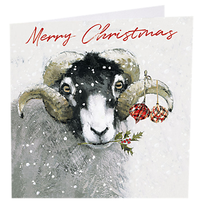 Image of Art Market Deck the Horns Christmas Cards, Assorted, Pack of 6