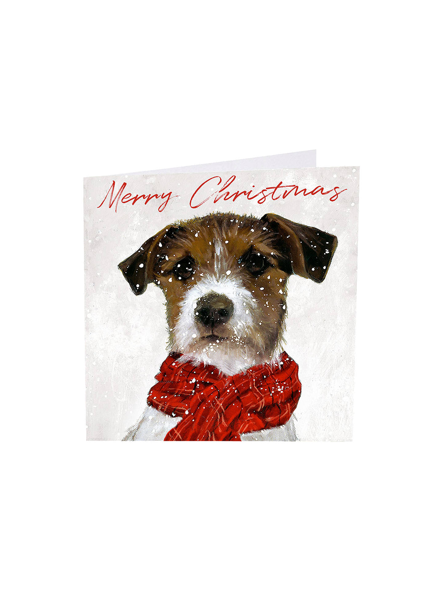 BuyArt Market Glitter Archie Christmas Cards, Assorted, Pack of 6 Online at johnlewis.com