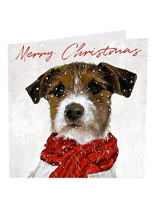 Art Market Glitter Archie Christmas Cards Assorted Pack Of