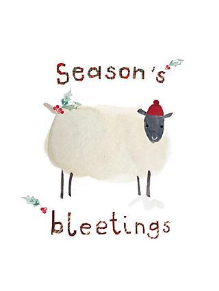 Woodmansterne Seasons Bleetings Charity Christmas Cards