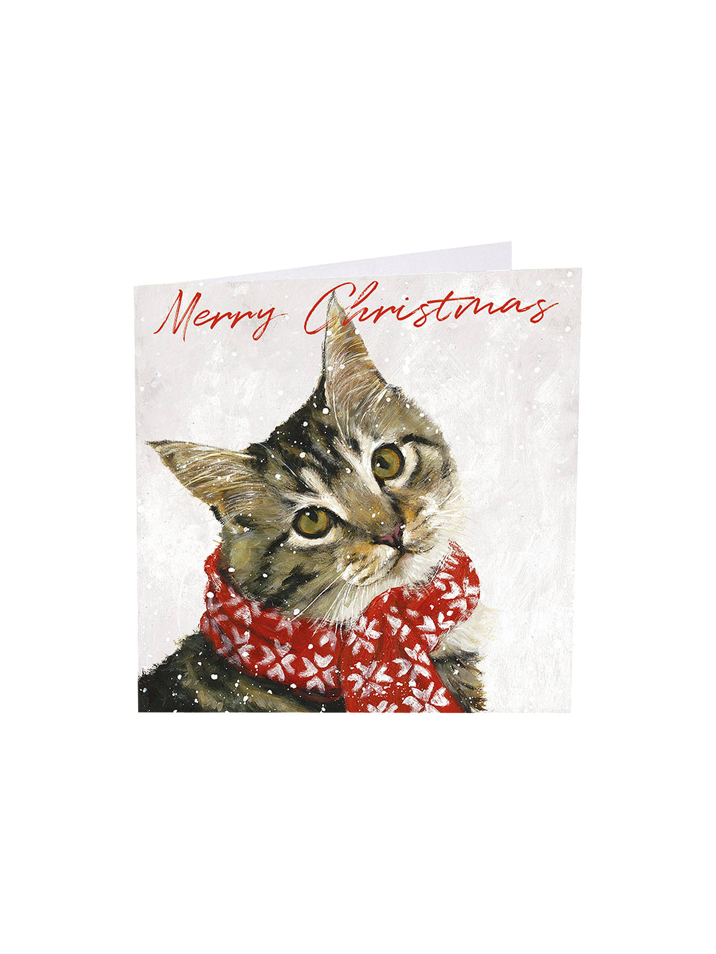 Art Market Glitter Ollie Christmas Cards Assorted Pack Of 6 At