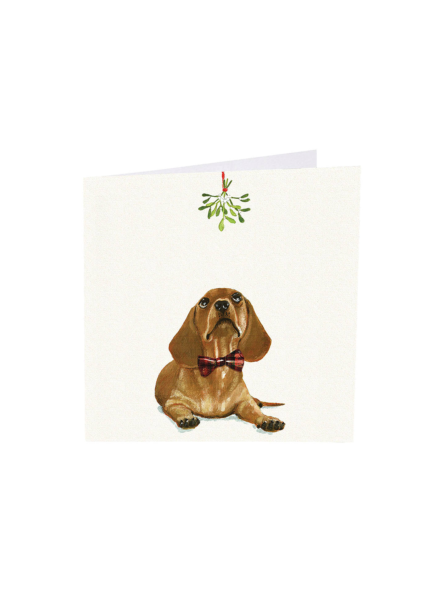 BuyArt Market Under The Mistletoe Christmas Cards, Assorted, Pack of 6 Online at johnlewis.com