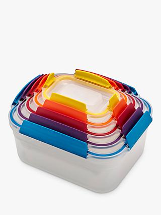 Joseph Joseph Nest Lock Airtight Storage Containers, Set of 5, Assorted