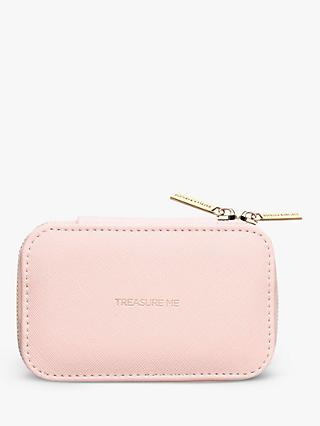 Estella Bartlett Treasure Me Zipped Jewellery Box, Blush