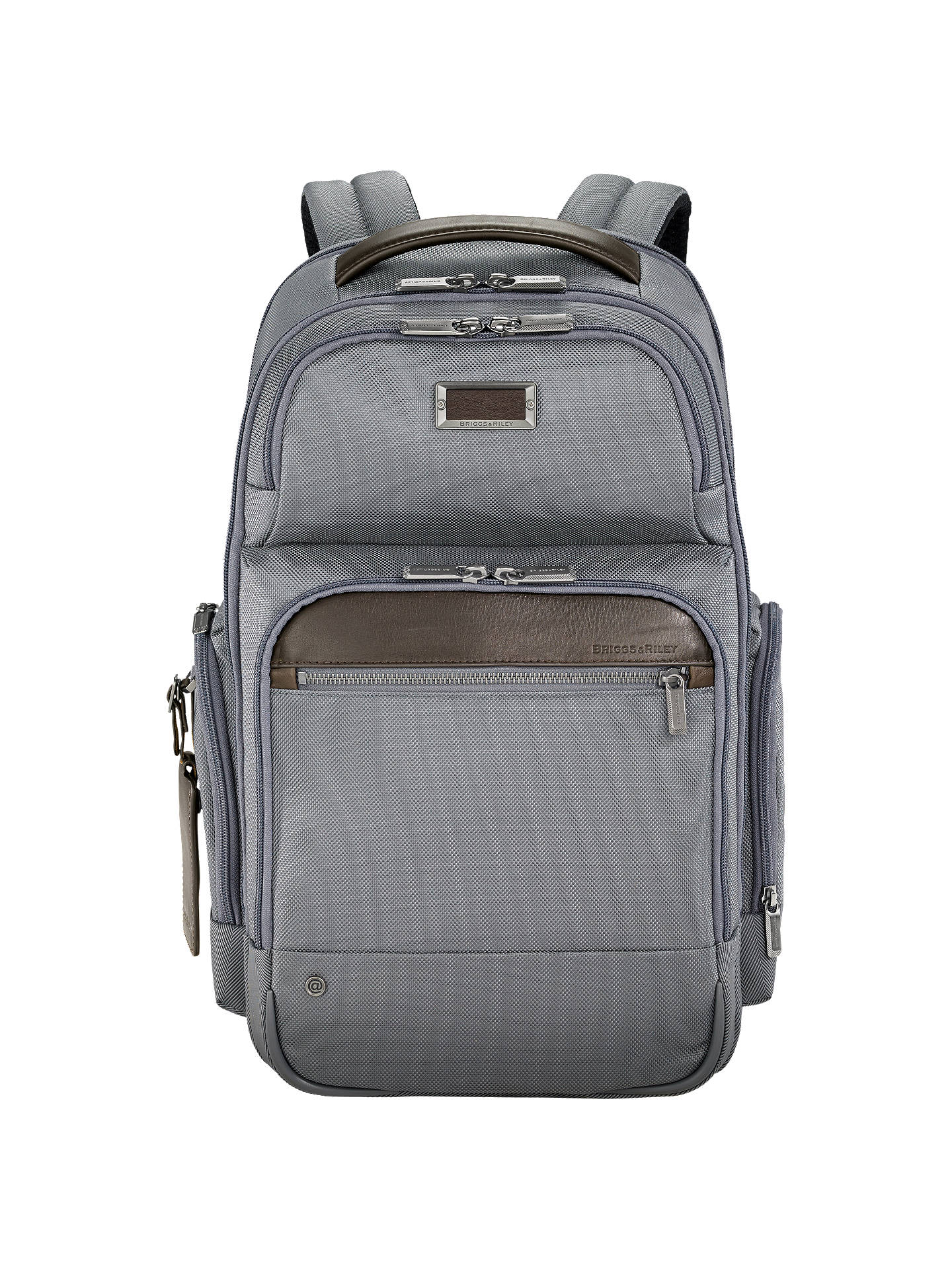 Buy Briggs & Riley AtWork Medium Cargo Backpack, Grey Online at johnlewis.com
