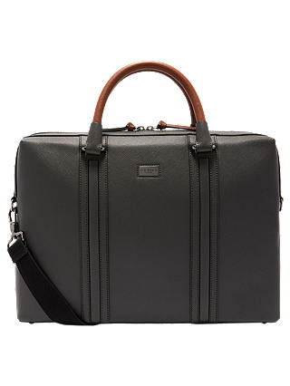 Buy Ted Baker Giiza Document Bag, Charcoal Online at johnlewis.com