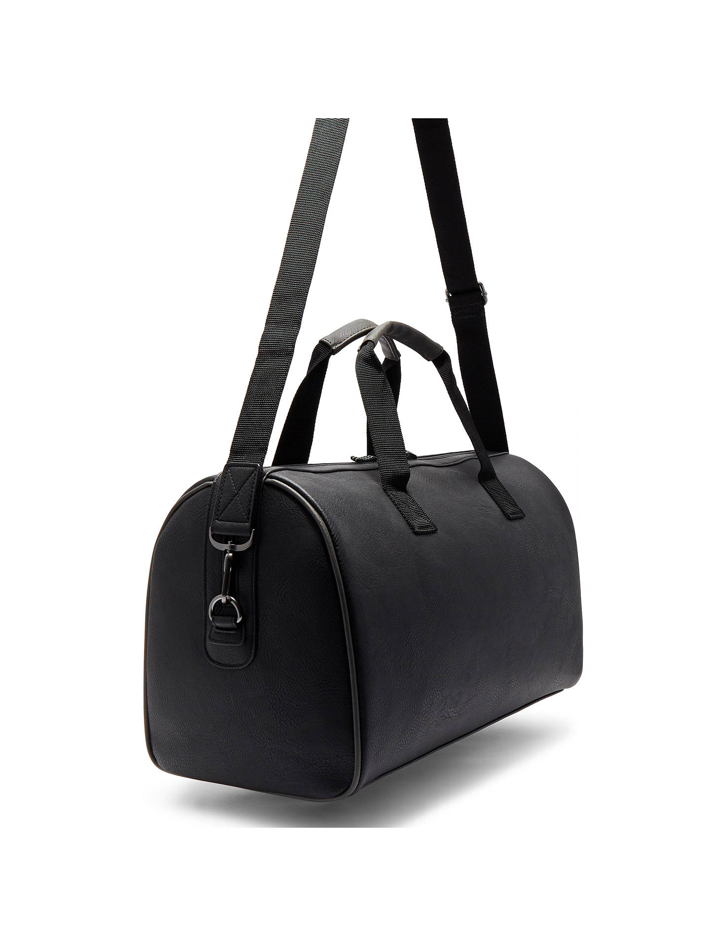 Buy Ted Baker Berman Holdall, Black Online at johnlewis.com