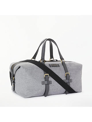 Buy Ted Baker Knitts Wool Holdall, Grey Online at johnlewis.com