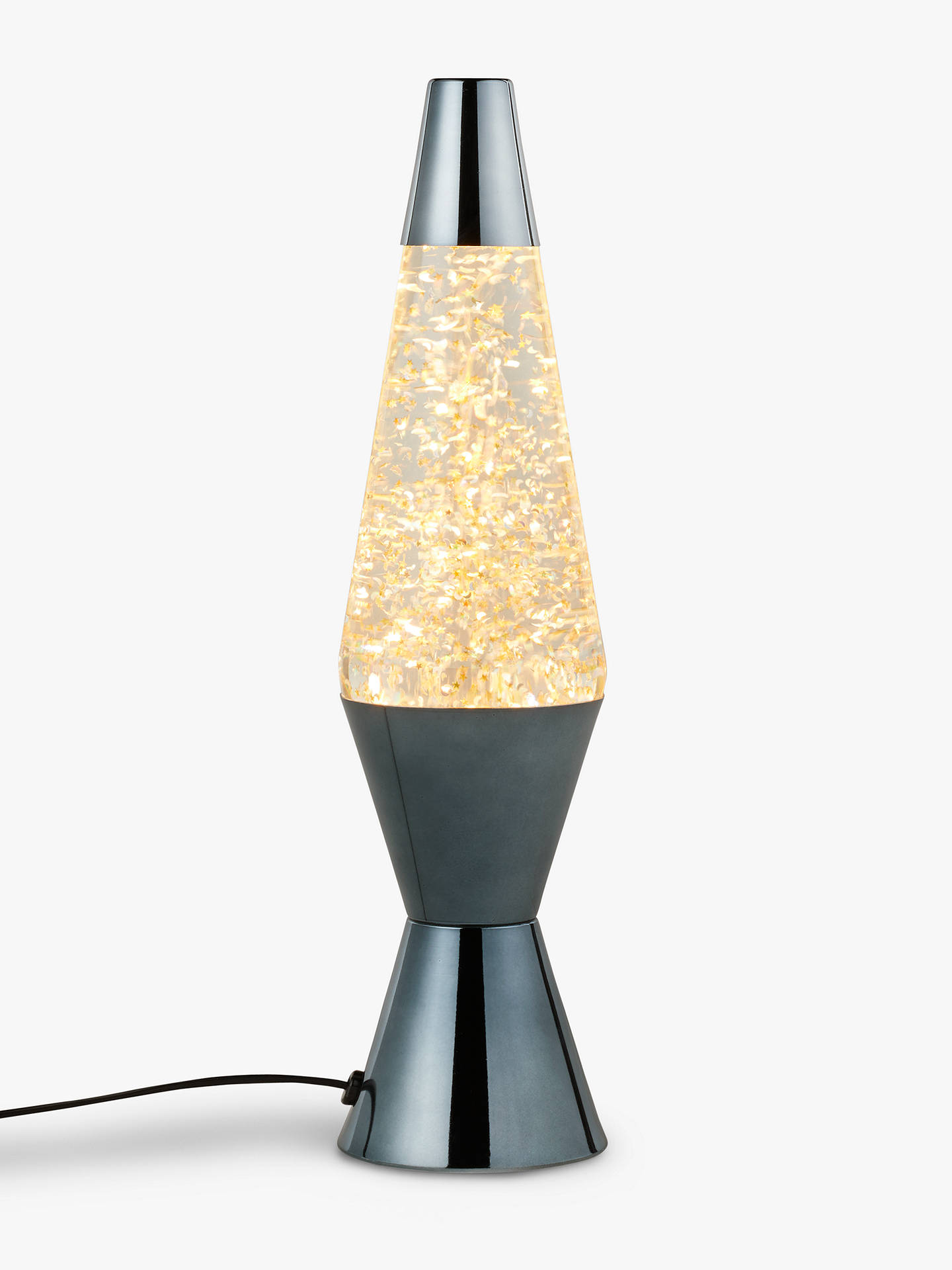 Lava® lamp Starry Night Table Lamp, Grey at John Lewis ...