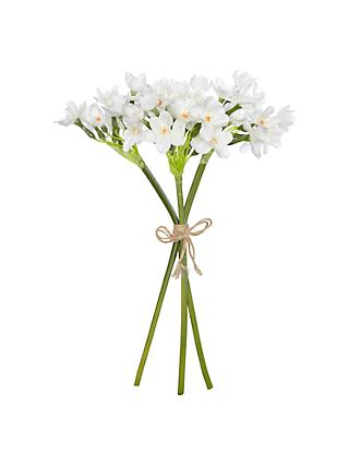 Artificial flowers all decorations john lewis partners john lewis partners frosted narcissus bunch mightylinksfo