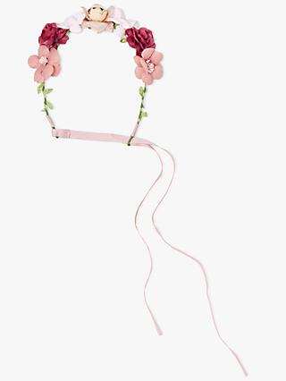 John Lewis & Partners Heirloom Collection Children's Flower Crown