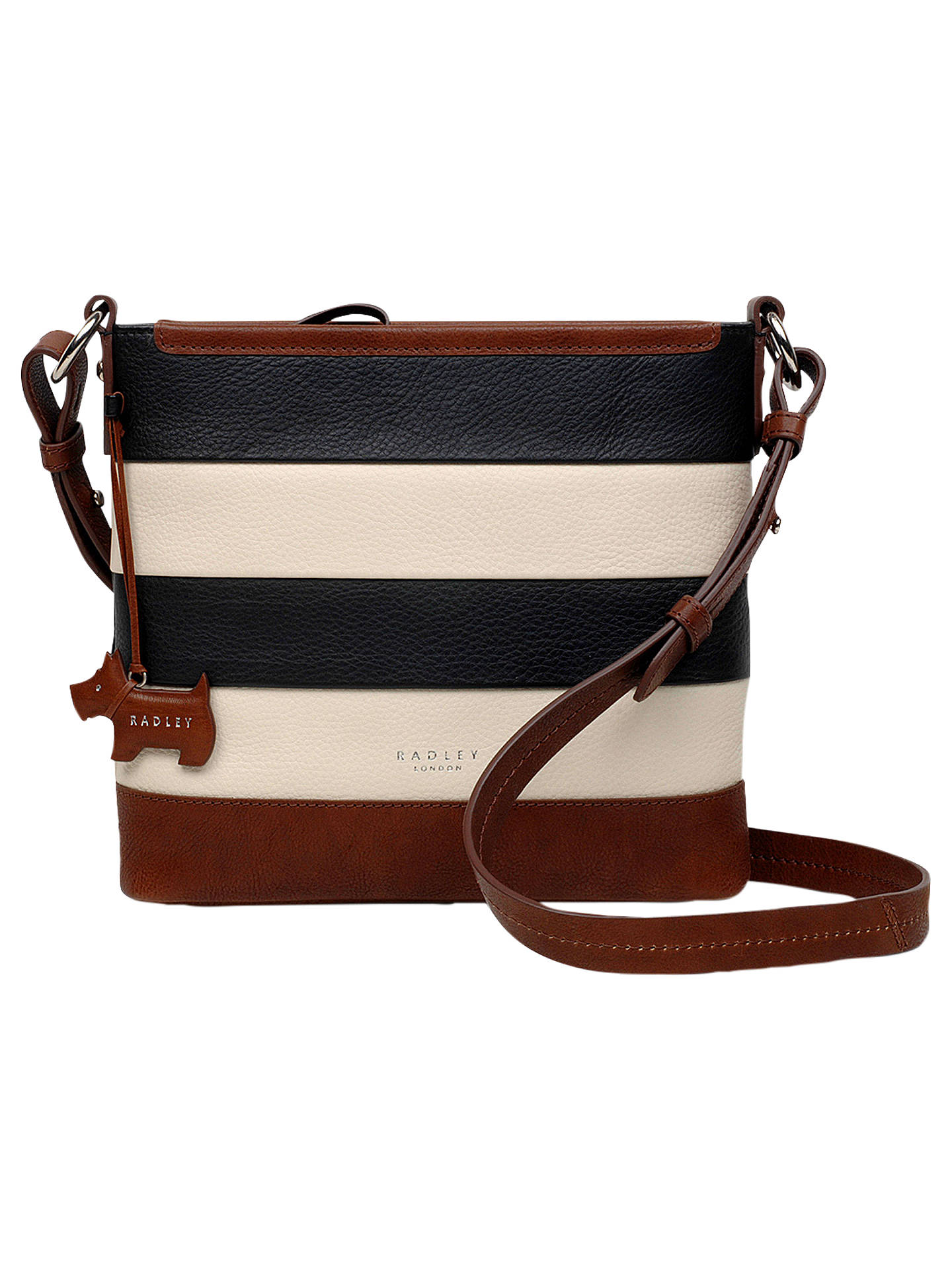 1869600e745f BuyRadley Babington Medium Stripe Leather Cross Body Bag