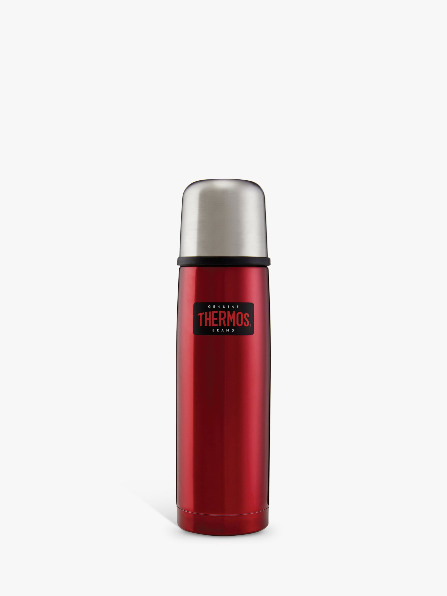 Thermos Thermos Light & Compact Stainless Steel Flask, 500ml, Red