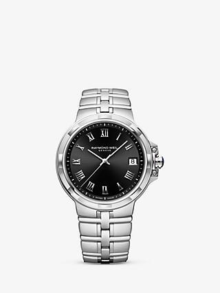 32f62d996da Raymond Weil 5580-ST-00208 Men s Parsifal Date Bracelet Strap Watch