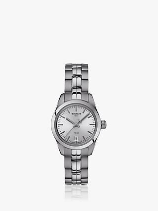 d4324cfd86d Tissot T1010101103100 Women s PR 100 Automatic Date Bracelet Strap Watch