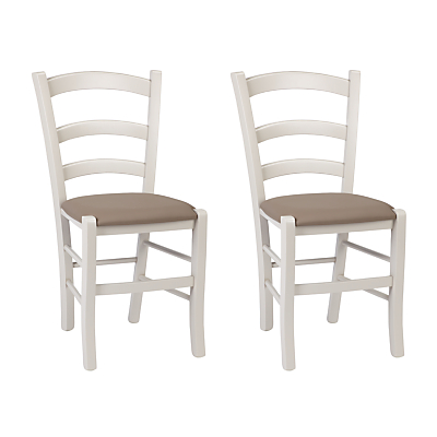 John Lewis & Partners Tavern Dining Chair, Set of 2, Cream