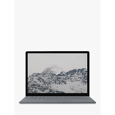 Image of Microsoft Surface Laptop, Intel Core i5, 8GB RAM, 128GB SSD, 13.5 PixelSense Display, Platinum