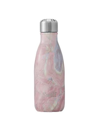 S'well Geode Rose Vacuum Insulated Drinks Bottle, Pink/Multi, 260ml