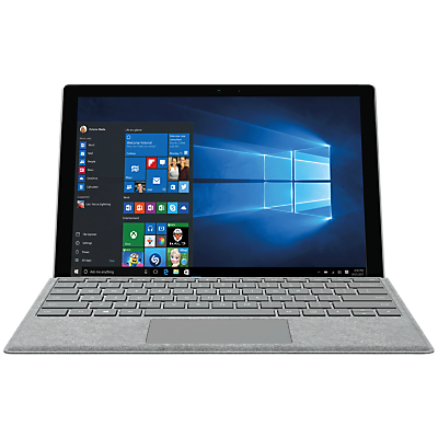 Image of Microsoft Surface Pro Tablet, Intel Core M3, 4GB RAM, 128GB SSD, 12.3 Touchscreen with Keyboard