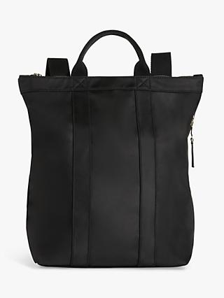 Kin Sette Tote Backpack, Black