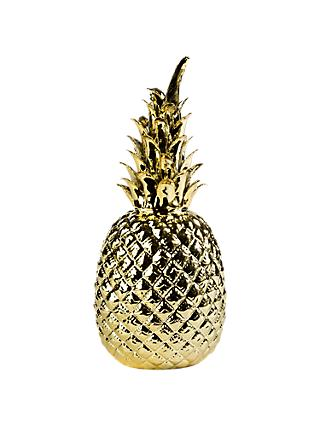 Pols Potten Pineapple Ornament, Gold