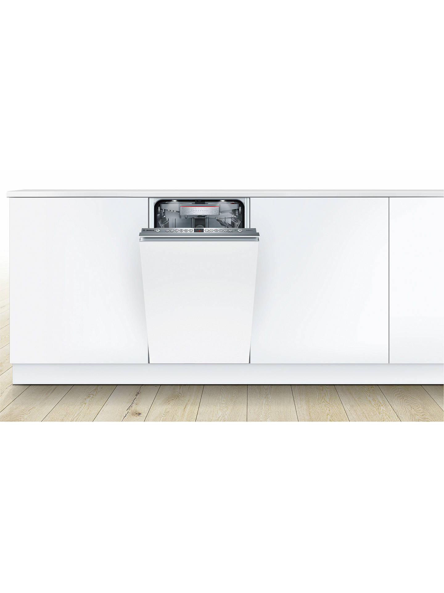 BuyBosch SPV66TX01E Fully Integrated Dishwasher Online at johnlewis.com
