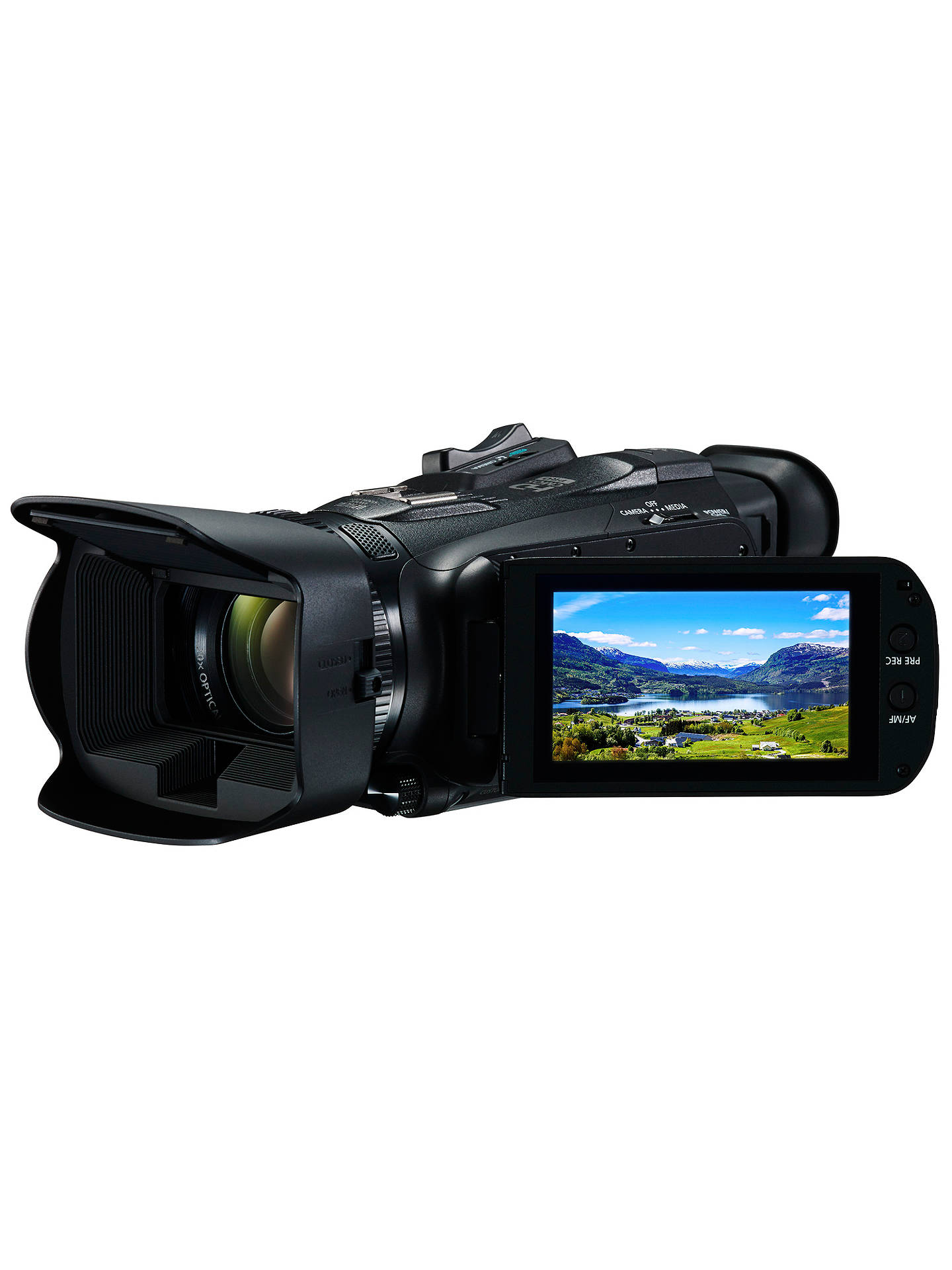 "BuyCanon LEGRIA HF G26 Camcorder, HD 1080p, 3.09MP, 20x Optical Zoom, Optical Image Stabiliser, 3"" Vari-angle Touch Screen Online at johnlewis.com"