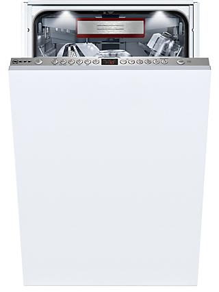 Neff S586T60D0G Integrated Slimline Dishwasher, White