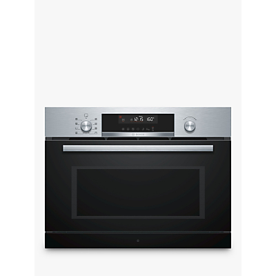 Image of BOSCH CPA565GS0B Built-in Combination Microwave - Stainless Steel, Stainless Steel