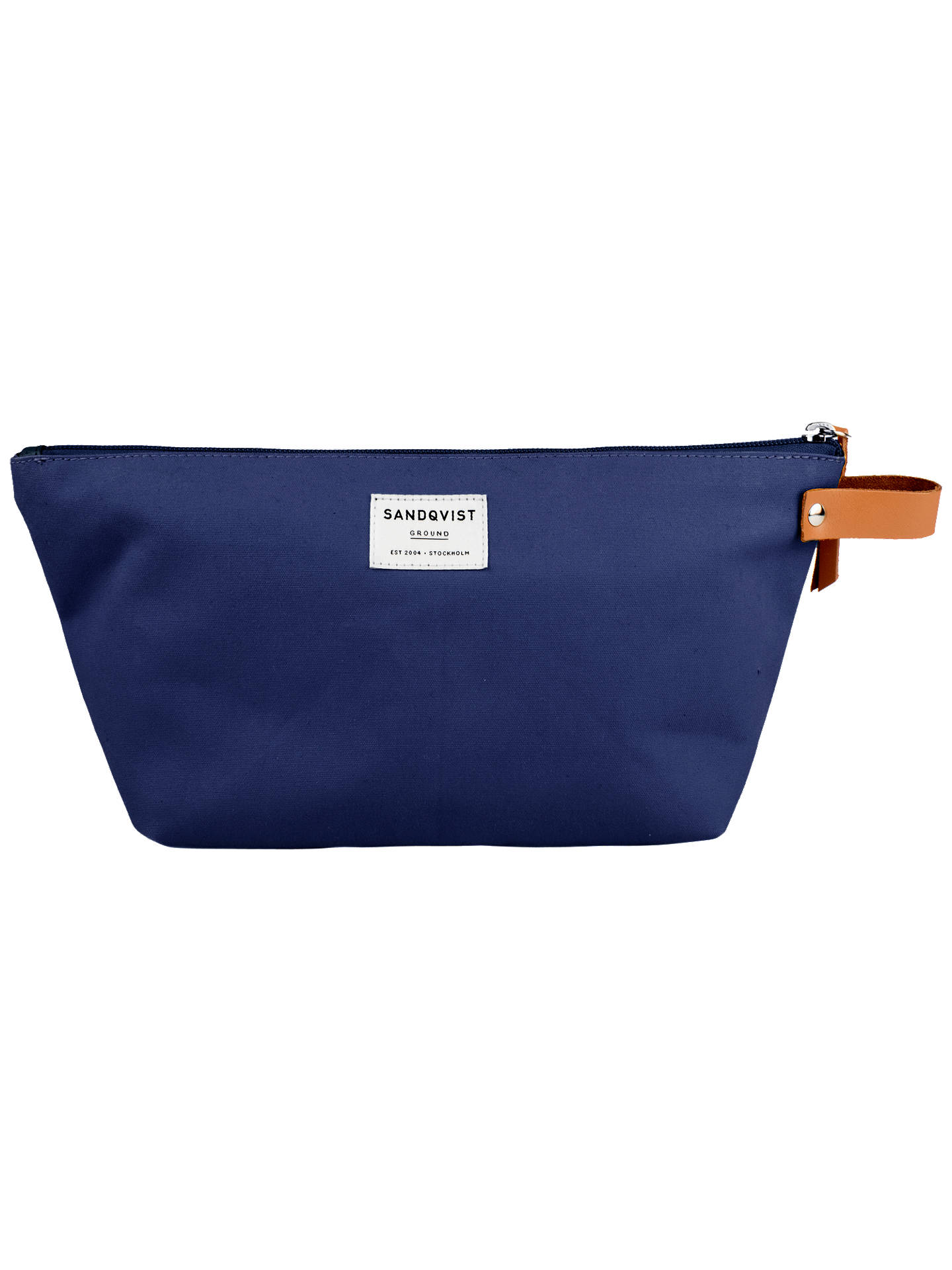 Buy Sandqvist Cleo Ground Washbag, Blue Online at johnlewis.com