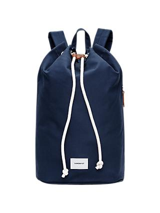Sandqvist Evert Drawstring Bucket Backpack