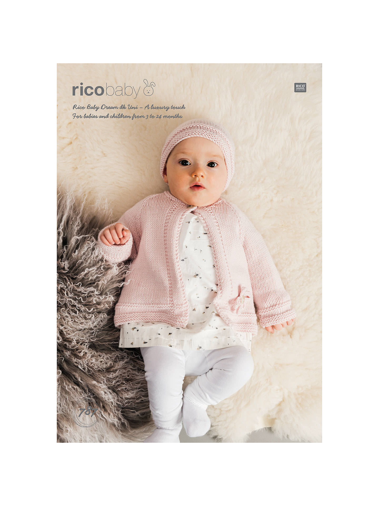 c09e56500 Rico Baby Dream DK Hat and Jacket Knitting Pattern