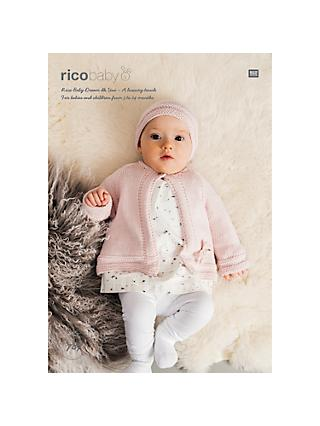b4a44b552d3 Rico Baby Dream DK Hat and Jacket Knitting Pattern