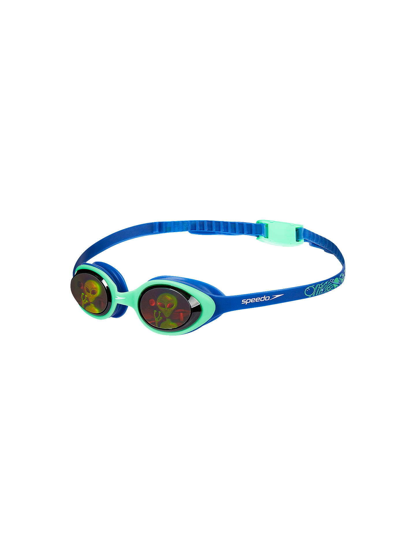 BuySpeedo Illusion 3D Junior Goggles, 6-14 years old, Blue Mid Online at johnlewis.com