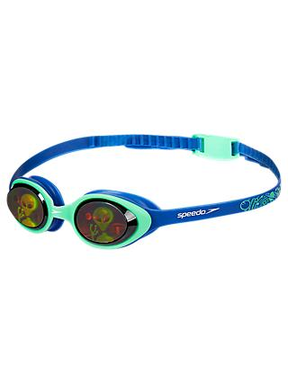 Speedo Illusion 3D Junior Goggles, 6-14 years old, Blue Mid