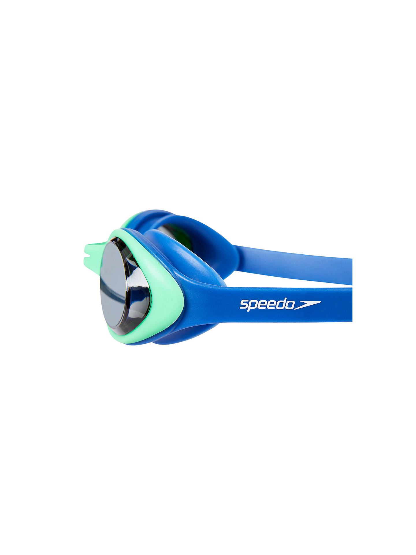 Buy Speedo Illusion 3D Junior Goggles, 6-14 years old, Blue Mid Online at johnlewis.com