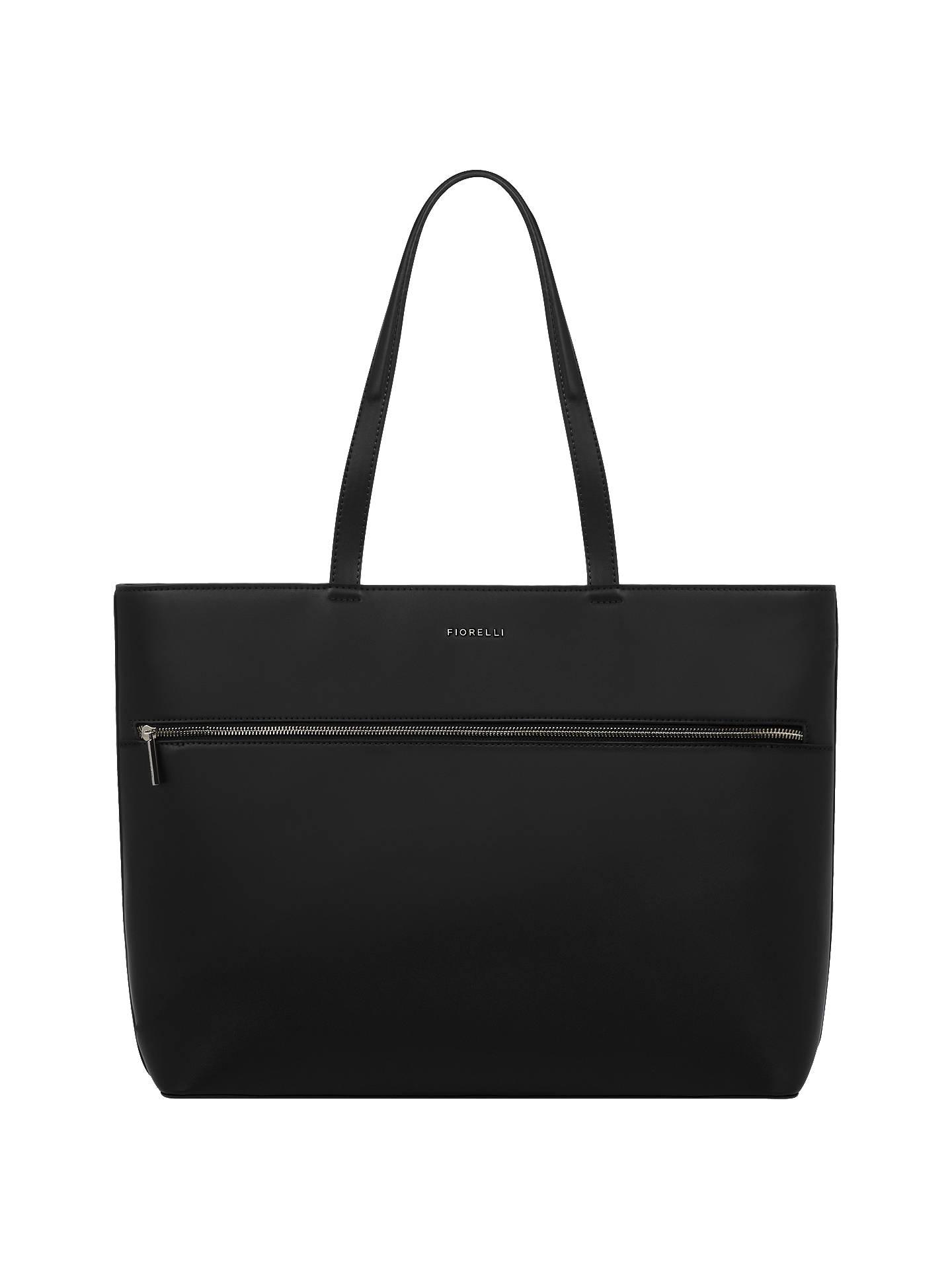 Fiorelli City Tote Bag Black Online At Johnlewis