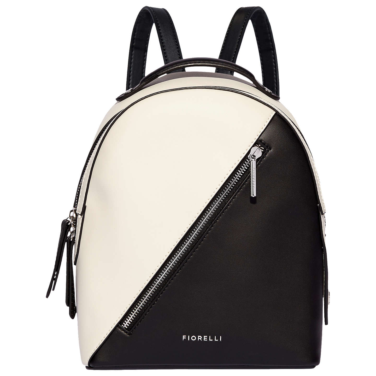 Fiorelli Anouk Small Backpack, Black/White by Fiorelli