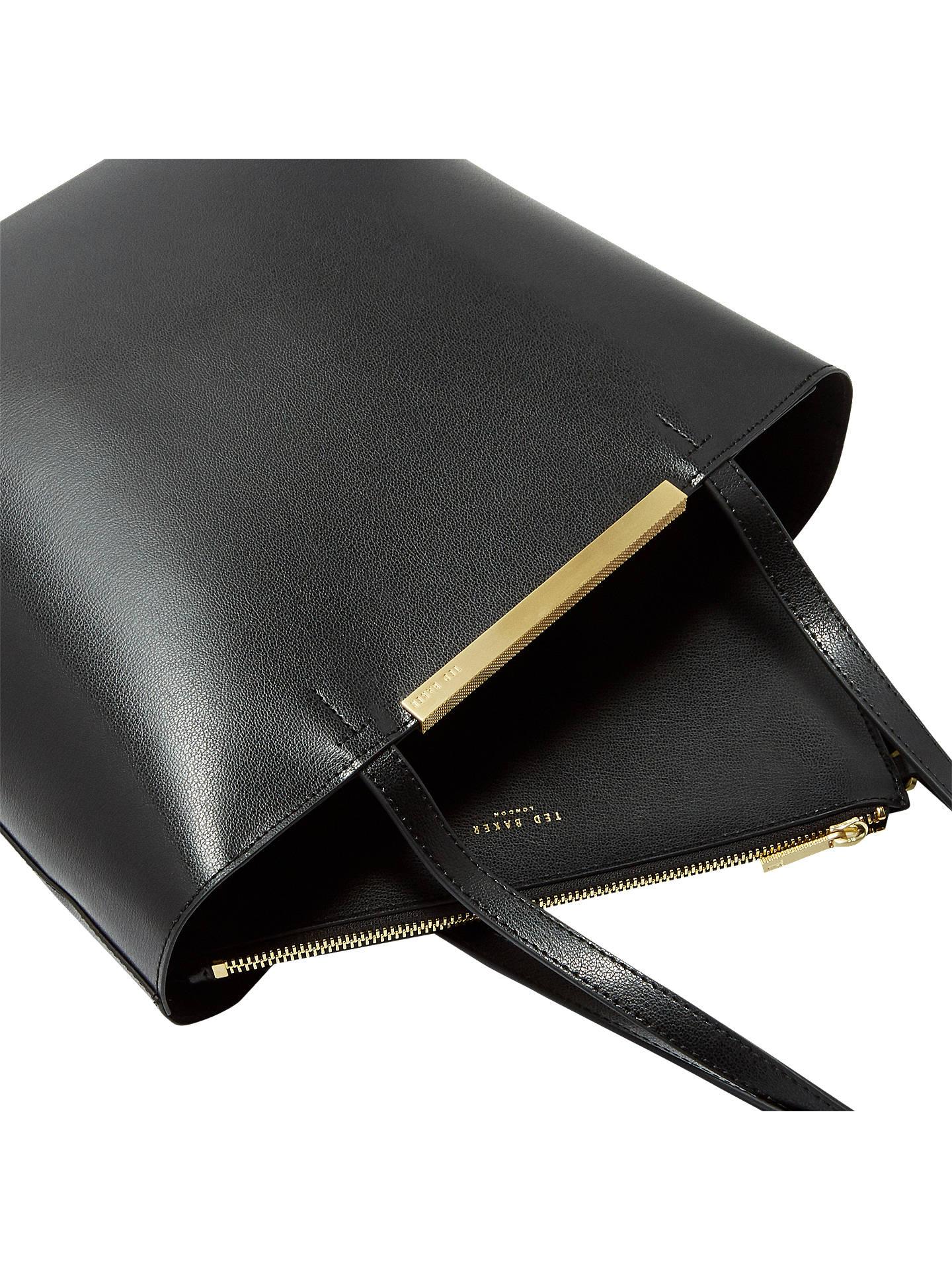 c7bb949232ccfc Ted Baker Melisa Large Leather Tote Bag at John Lewis   Partners