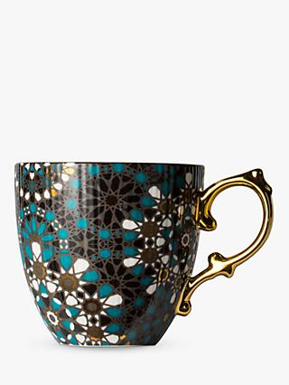 T2 Dazed & Dazzled Mug, Coral/Multi