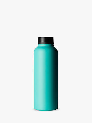 Buy T2 Stainless Steel Travel Flask, 500ml, Aqua Online at johnlewis.com