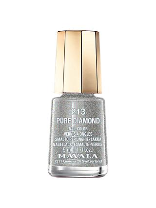MAVALA Mini Colour Nail Polish - Glitter, 213 Pure Diamond