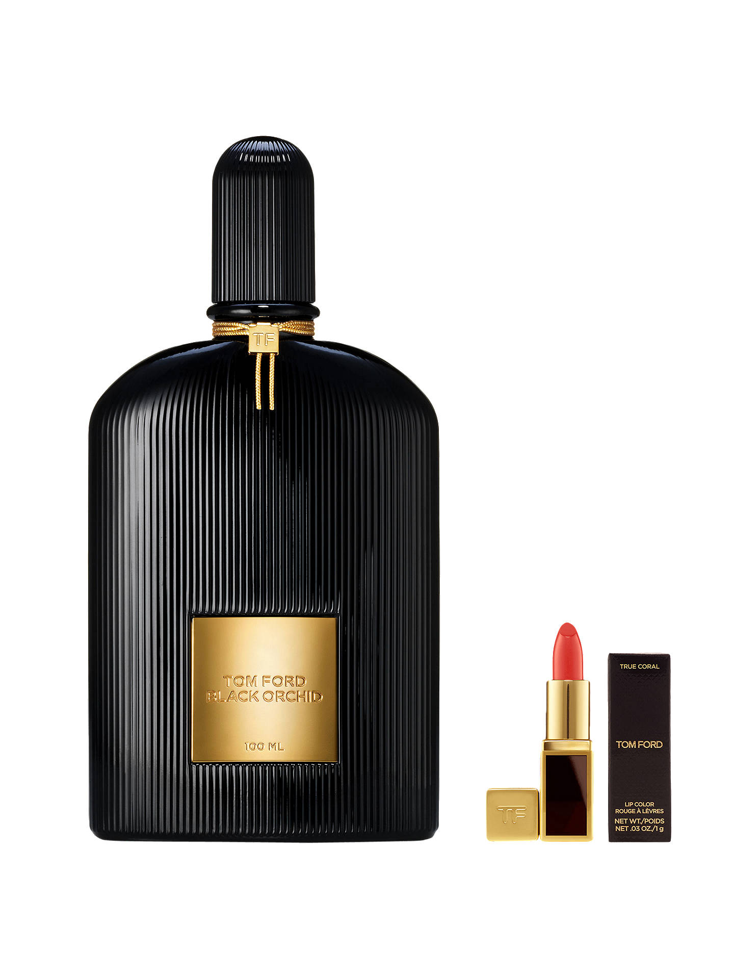 Tom Ford Black Orchid Eau De Parfum 100ml With Deluxe Lip Colour