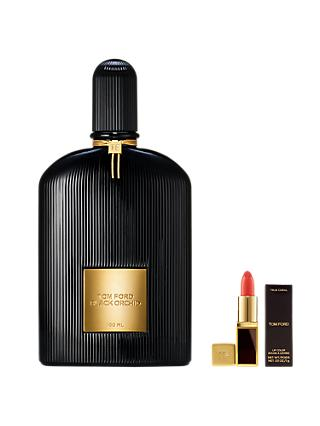 TOM FORD Black Orchid Eau de Parfum, 100ml with Deluxe Lip Colour (Bundle)