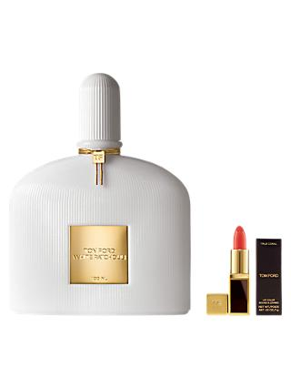 TOM FORD White Patchouli Eau de Parfum, 100ml with Deluxe Lip Colour (Bundle)