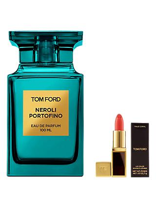 TOM FORD Private Blend Neroli Portofino Eau de Parfum, 100ml with Deluxe Lip Colour (Bundle)