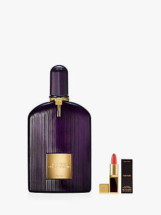 TOM FORD Velvet Orchid Eau de Parfum, 100ml with Deluxe Lip Colour (Bundle)