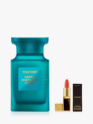 TOM FORD Private Blend Soleil Blanc Eau de Parfum, 100ml with Deluxe Lip Colour (Bundle)