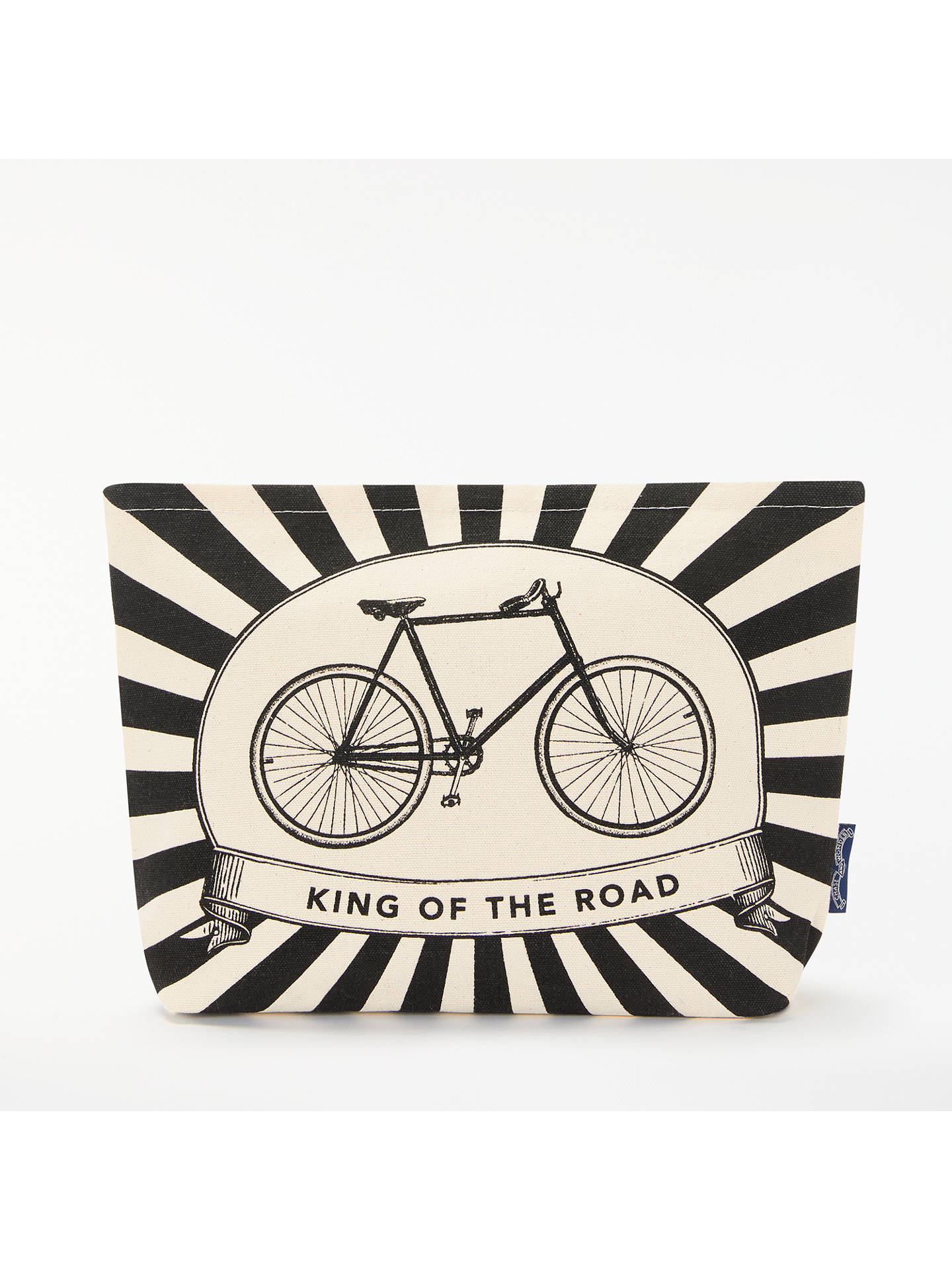 Buy Chase and Wonder King of the Road Wash Bag, White Online at johnlewis.com