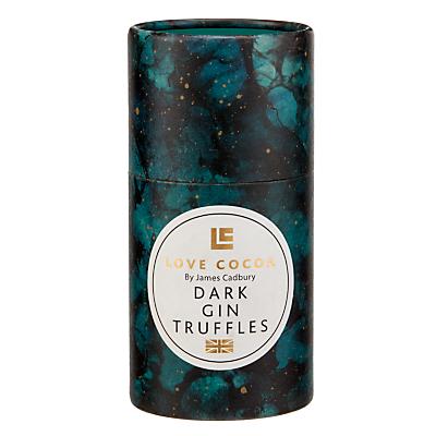 Image of Love Cocoa Dark Gin Truffles Tube, 150g